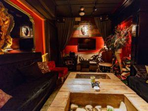 ハロウィンイベントパーティー 麻布十番スプトニックSPTUNIKLOUNGE チルラグ